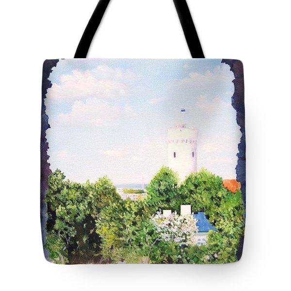 White Castle In Tallinn Estonia Tote Bag
