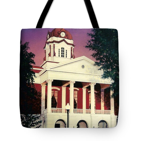 White County Courthouse Tote Bag