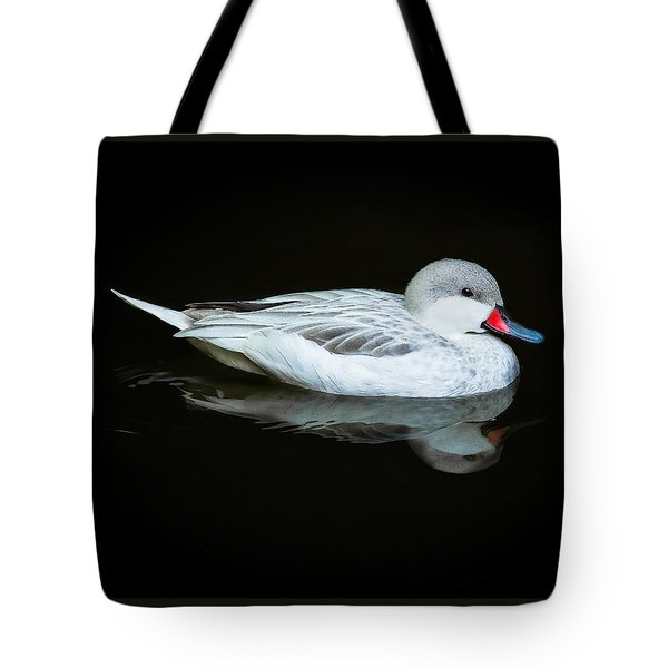 White Duck Tote Bag