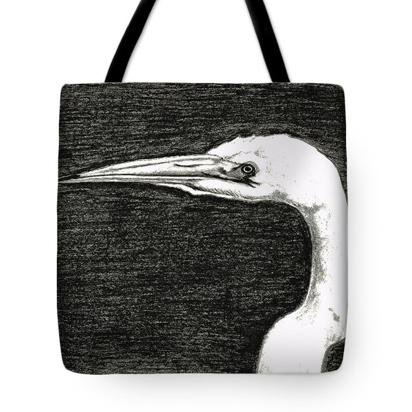 White Egret Art - The Great One - By Sharon Cummings Tote Bag