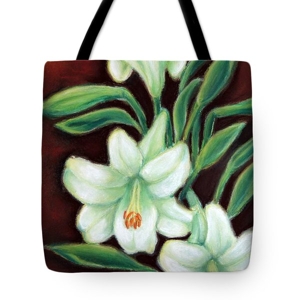 White Elegance Tote Bag