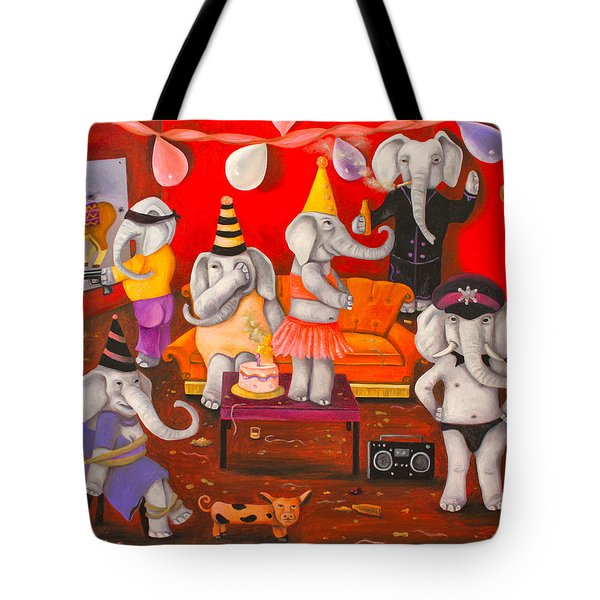 White Elephant Party Edit 5 Tote Bag