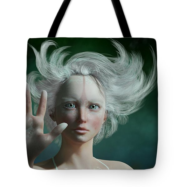 White Faun Tote Bag