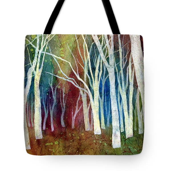 White Forest I Tote Bag by Hailey E Herrera