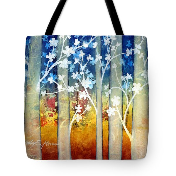 White Forest II Tote Bag