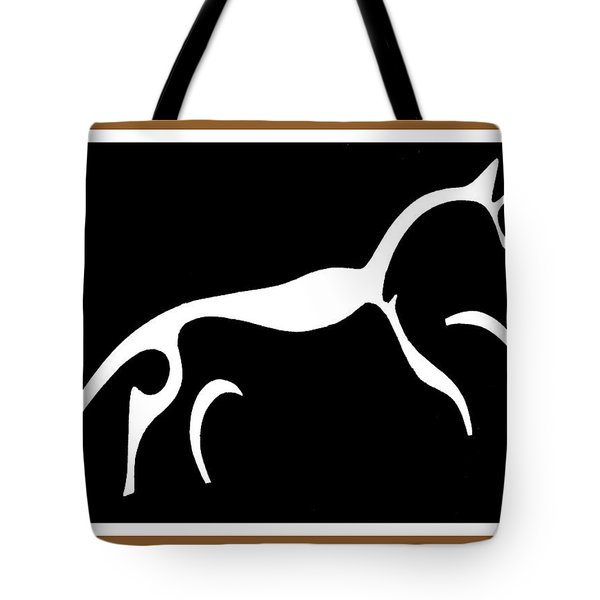 White Horse Of Uffington Tote Bag