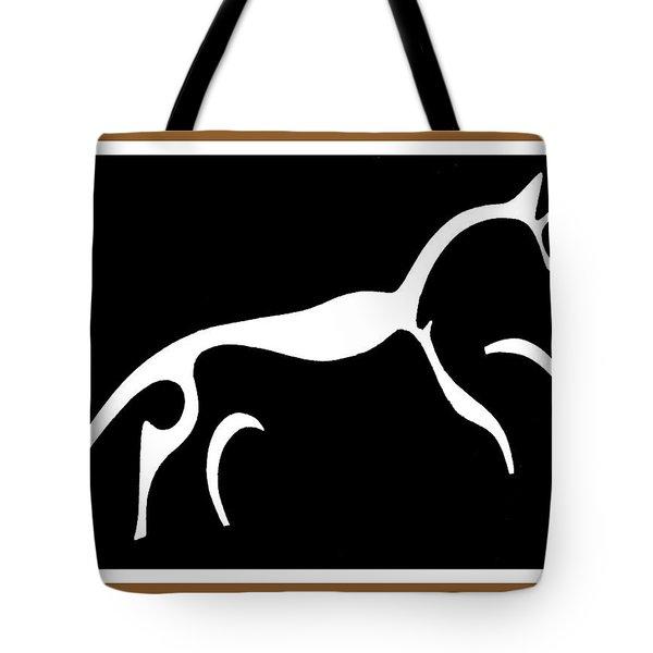 White Horse Of Uffington Tote Bag