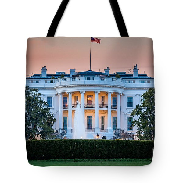White House Tote Bag by Inge Johnsson
