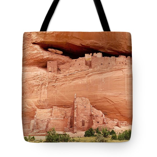 White House Ruins Canyon De Chelly Tote Bag