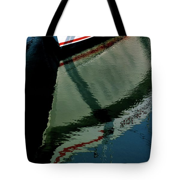 White Hull On The Water Tote Bag
