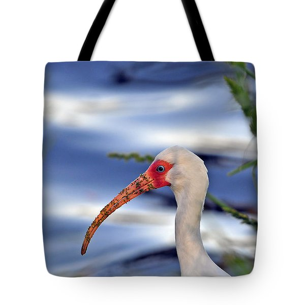 Intriguing Ibis Tote Bag