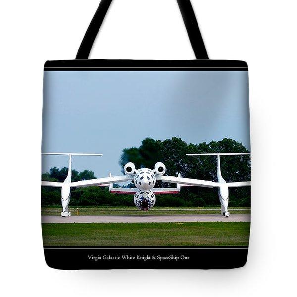 White Knight Tote Bag by Adam Romanowicz