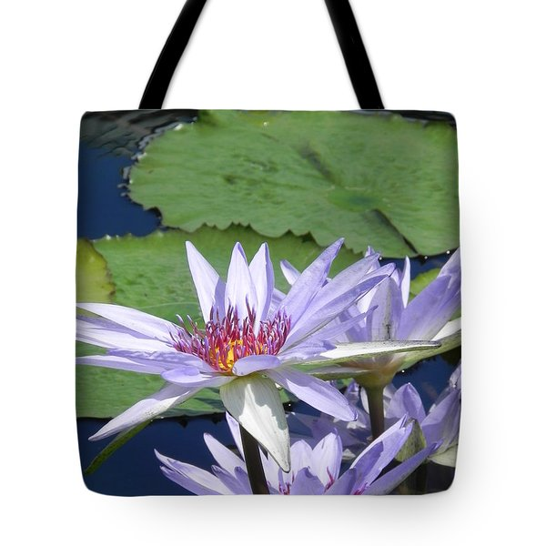 Tote Bag featuring the photograph White Lilies by Chrisann Ellis