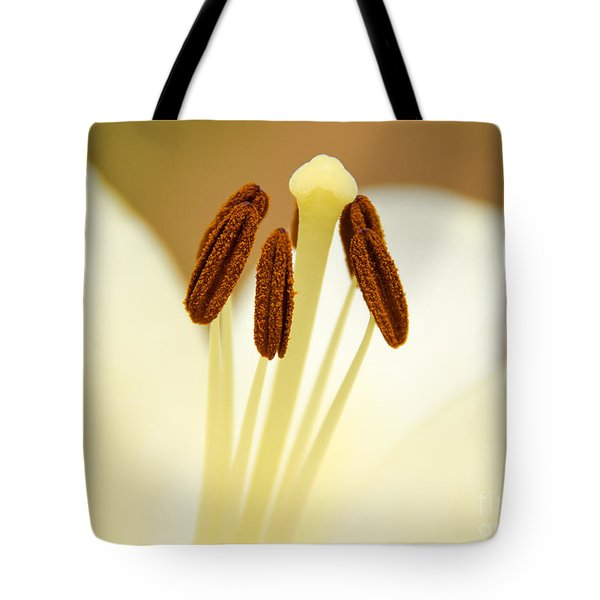 Tote Bag featuring the photograph White Lily #2 by Lisa L Silva