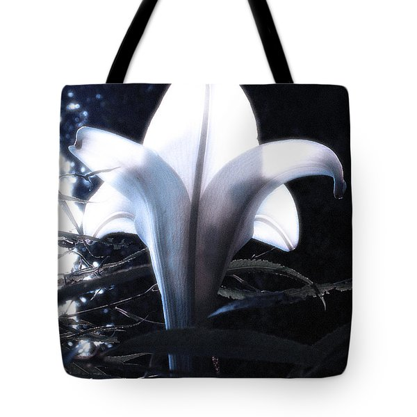 White Lily By Jan Marvin Tote Bag