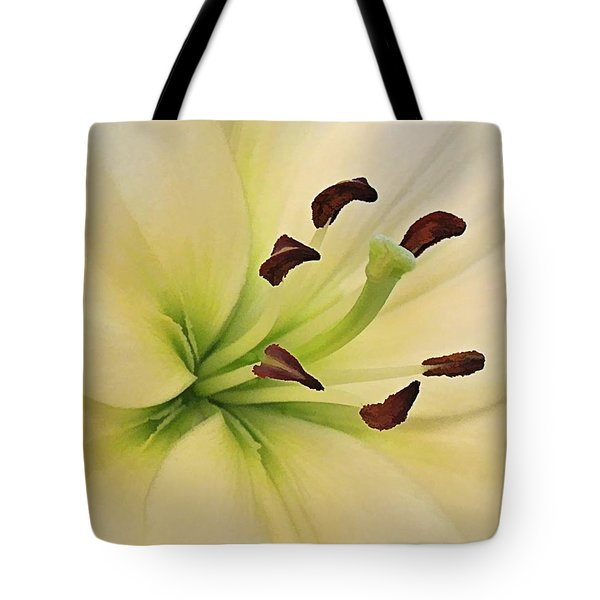 White Lily Pp-6 Tote Bag