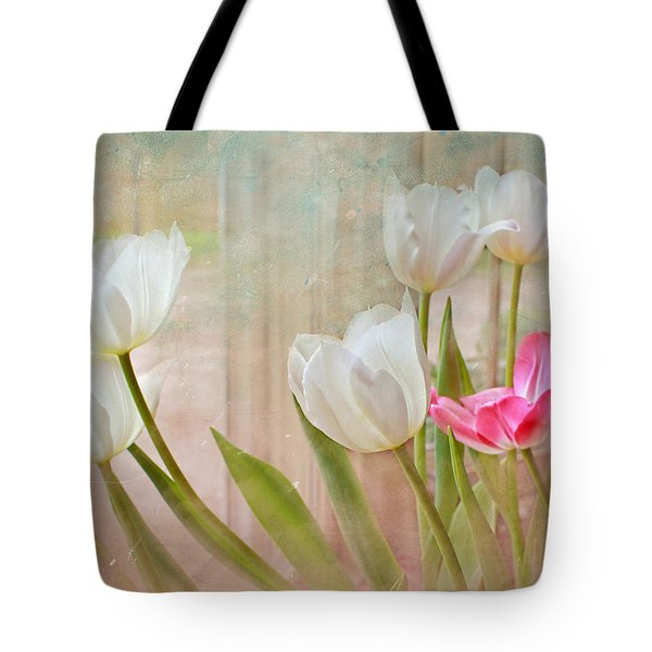 White Lily Show Tote Bag by Bonnie Willis