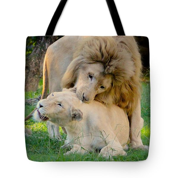 How About A Nibble My Love Tote Bag
