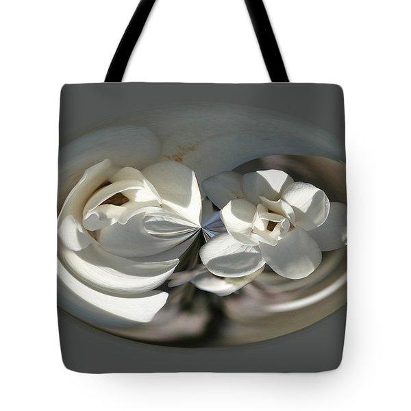 White Magnolia Series 511 Tote Bag