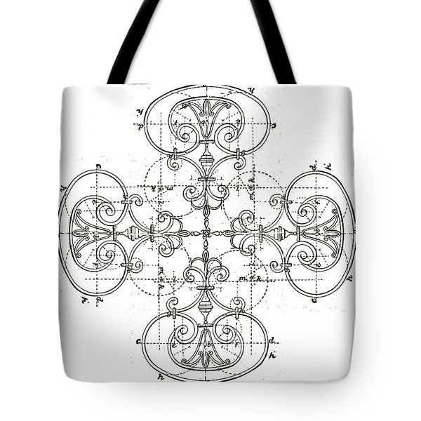 Tote Bag featuring the photograph White Maltese Cross by Suzanne Powers