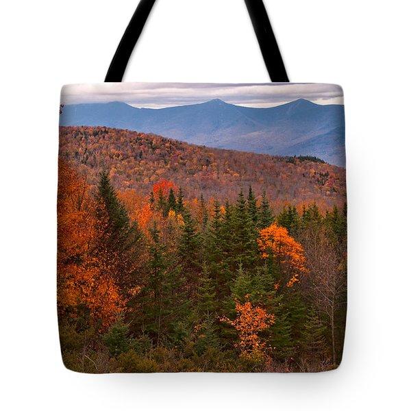 White Mountains Drama Tote Bag