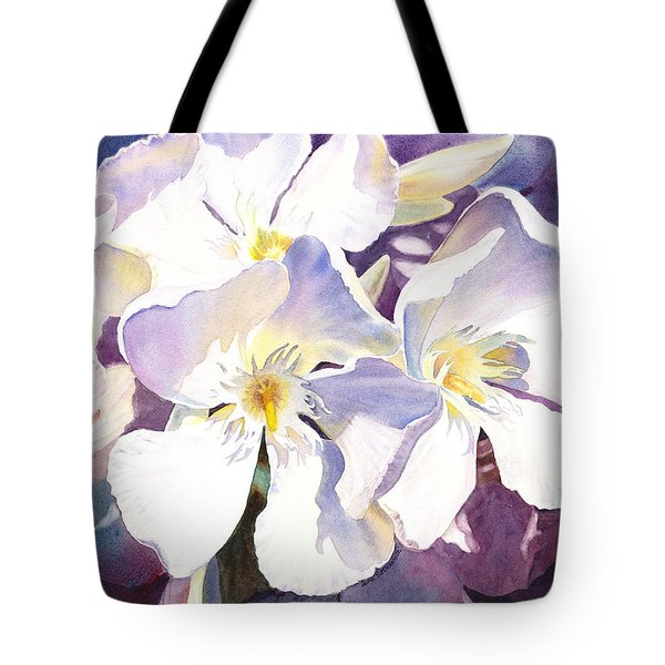 White Oleander Tote Bag