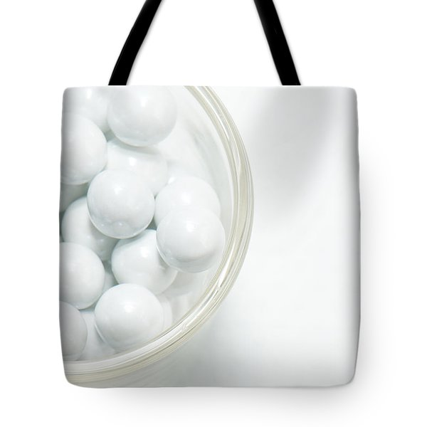 Tote Bag featuring the photograph White On White by Lisa Knechtel