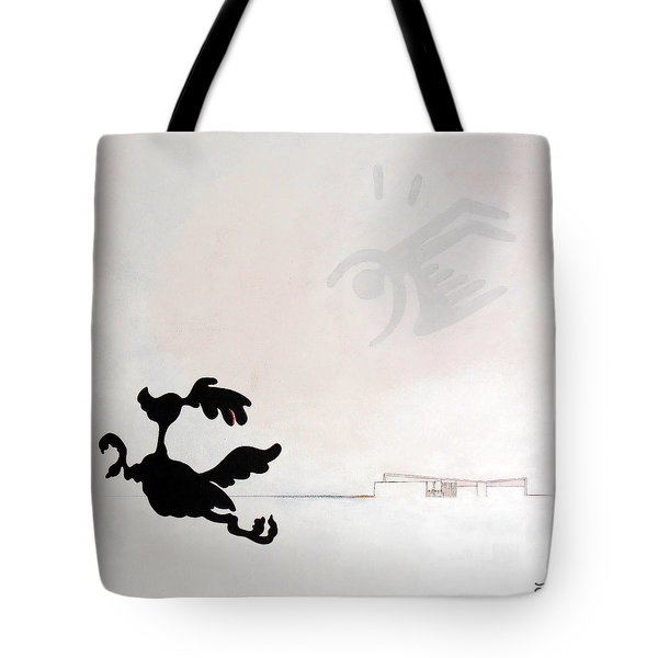 White Palm Springs Idyll Tote Bag