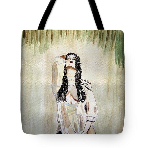 White Passion Tote Bag by Shlomo Zangilevitch
