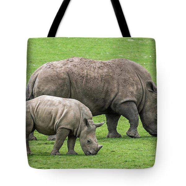 White Rhino 8 Tote Bag