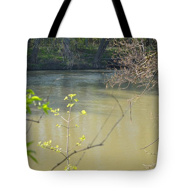 White River Tote Bag by Alys Caviness-Gober