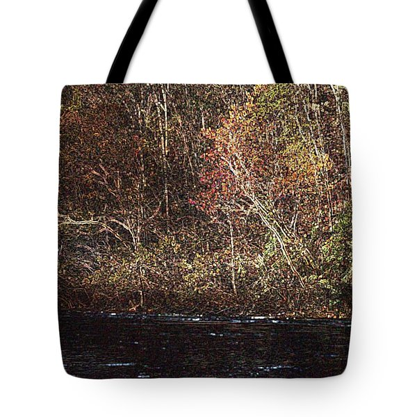Tote Bag featuring the photograph White River by Donna Smith