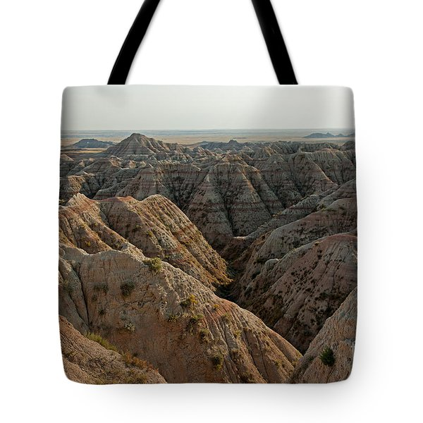 White River Valley Overlook Badlands National Park Tote Bag