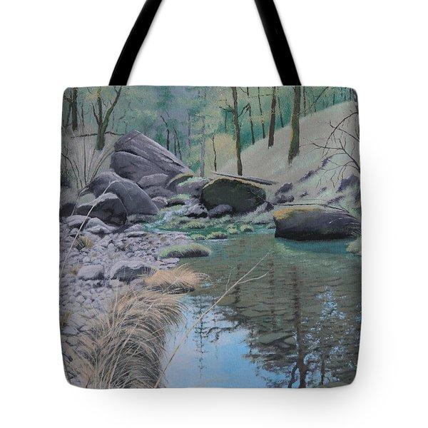White Rock Creek Tote Bag