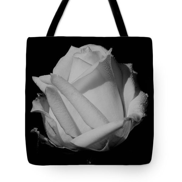 Tote Bag featuring the photograph White Rose by Michelle Joseph-Long