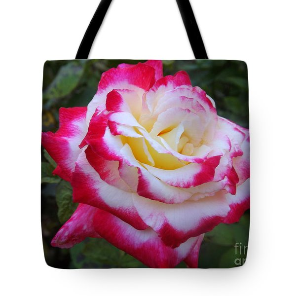 White Rose With Pink Texture Hybrid Tote Bag by Lingfai Leung