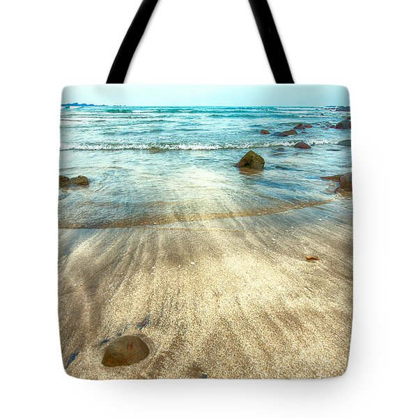 White Sand Beach Tote Bag