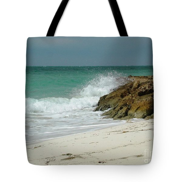 White Sands Tote Bag by Judy Palkimas