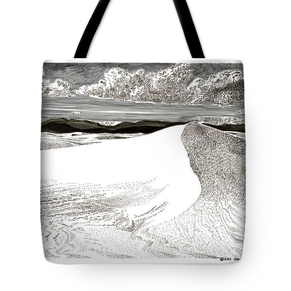 White Sands New Mexico Tote Bag by Jack Pumphrey