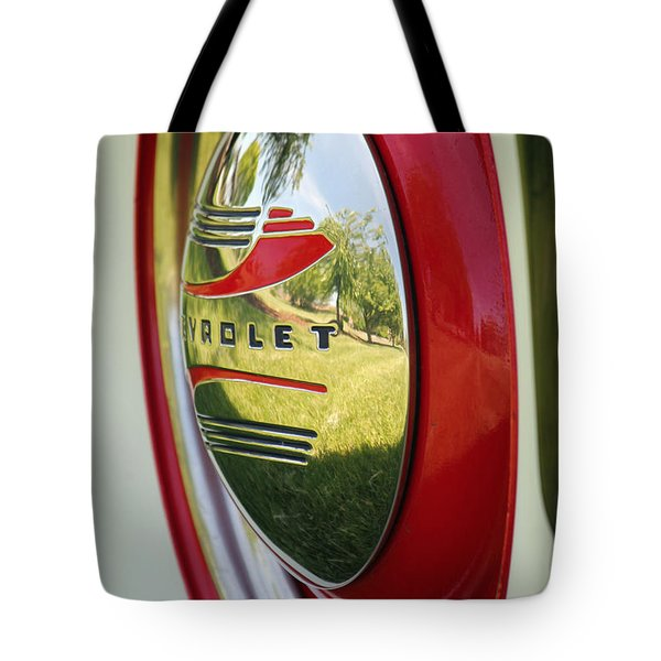 White Sidewalls On Chevy Tote Bag