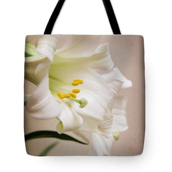 White Softness Tote Bag