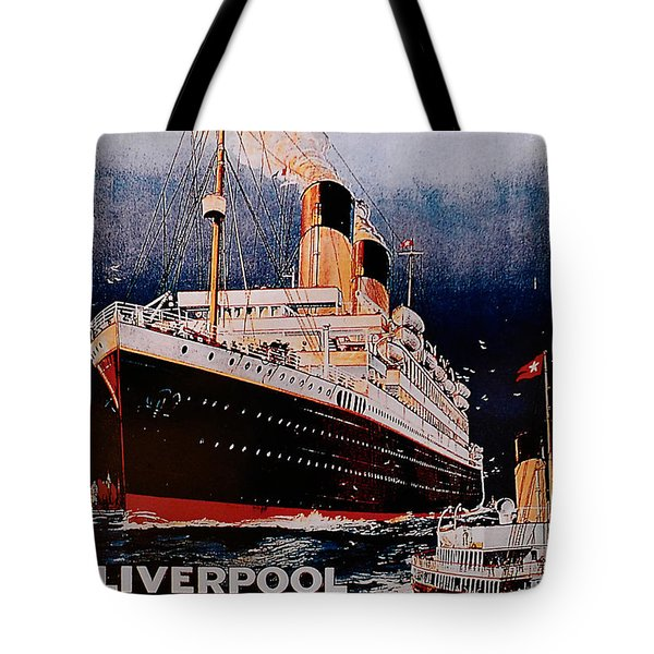 White Star Line Poster 1 Tote Bag