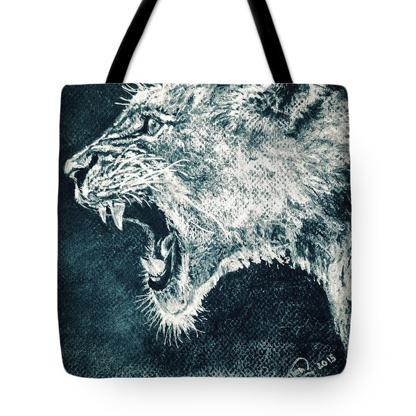 Leon Portrait Tote Bag