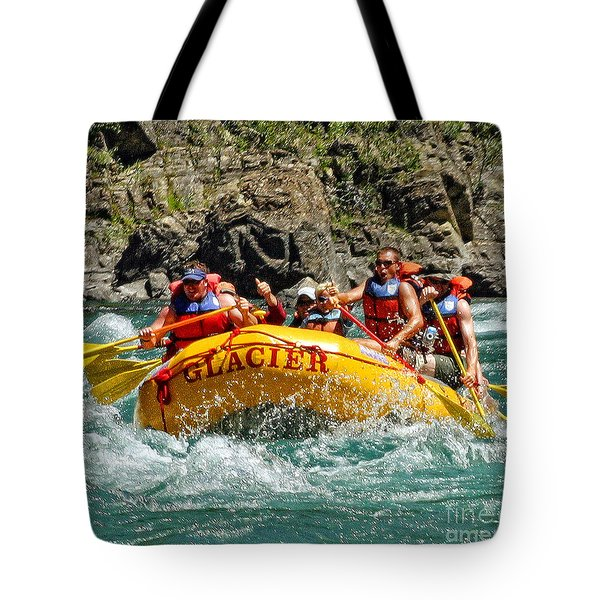 White Water Fun Tote Bag