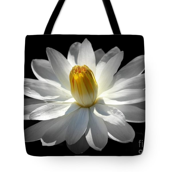 White Water Lily #2 Tote Bag