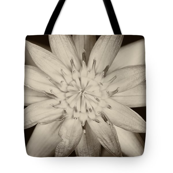 Lotus Tote Bag by Ulrich Schade