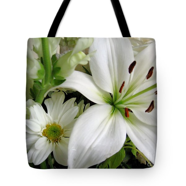 White Wonder Tote Bag by Rory Sagner