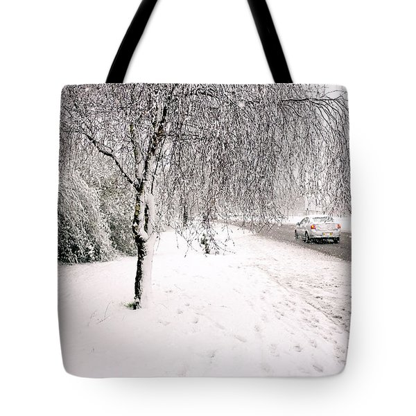 White World Tote Bag