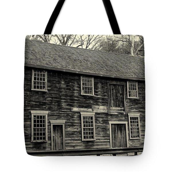 Whitehall The Home Of Bishop Berkeley  Tote Bag by Nancy De Flon