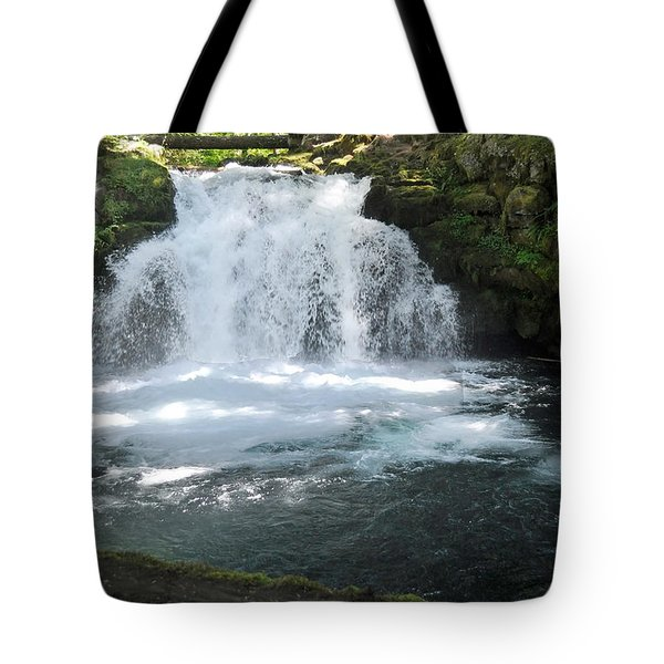 Whitehorse Falls Series 9 Tote Bag